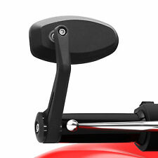 "Ryde Negro Universal Moto 22mm/7/8 ""bar End Mirrors motorbike/bike Par"