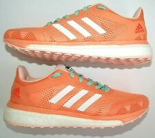 New Sneakers Women's Adidas Boost Response + BB2988 Running Orange Shoes US 6.5