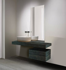 Mensola Sospesa per Lavabo Design moderno L 100 cm, MabelOnline