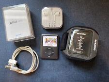 Apple iPod Nano 3rd Generation Black bundle