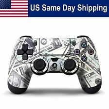 Decal Sticker Skin for Playstation 4 Controller Protection Cover Money
