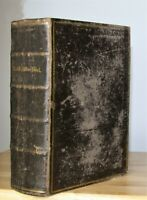 antique 1855 German Bible heavily illustrated **NICE**