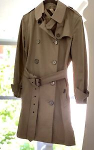 BURBERRY Trench Coat Size 8