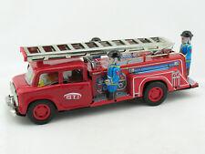 Blechspielzeug - Große Feuerwehr mit ausziehbarer Leiter  2410718