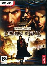 D&D Forgotten Realms DEMON STONE - Brand New in Sealed DVD Box - PC RPG