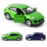 1:36 Porsche Macan S SUV Model Car Diecast Gift Toy Vehicle Doors Open Kids