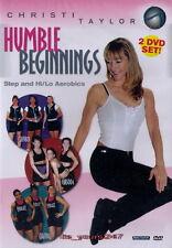 Christi Taylor: Humble Beginnings - Step And Hi/Lo Aerobics | 2-DVD-Set NEU
