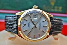 ROLEX OYSTER PERPETUAL 9CT GOLD CHRONOMETER CAL.1570 GENTS VINTAGE WATCH-RARE!