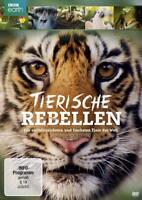 TIERISCHE REBELLEN-DIE ERSTAUNLICHSTEN UND FRECHSTEN TIERE DER WELT  DVD NEU