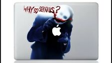 "JOKER BATMAN perché così grave Sticker Vinyl MacBook Air/Pro"" 13"""