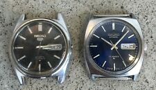 Vintage Seiko Automatic mens watches lot. Parts or repair.