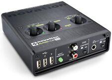Novation Audiohub 2x4 Combined Audio Interface and USB 2.0 Hub, Novation Audiohu
