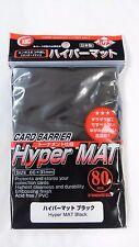 KMC Card Barrier Sleeves Hyper Mat Black 80 Pack Tounament specification F/S