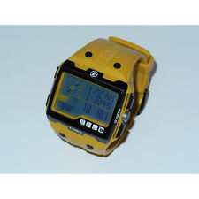 Used* Timex Expedition WS4 Watch T49758 Yellow Altimeter Compass Barometer ABC