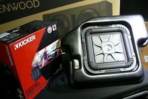 """Kicker SRAMCQ09  Dodge Ram 2002-Up Truck 10"""" L7 Sub Speaker Box Enclosure CUSTOM"""