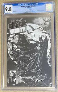 BATMAN BLACK AND WHITE #1 MICO SUAYAN HOMAGE TRADE VARIANT CGC 9.8