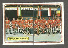 1979 Panini World Hockey 79, Team Hungary (Magyarorszag), Set of 10