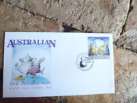 1988 NEW ZEALAND  HAPPY BICENTENNARY AUSTRALIA ISSUE  FIRST DAY  COVER