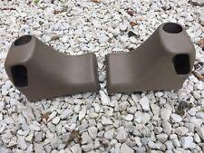 Genuine BMW Z3 Rear Upper Seat Belt Turret  Side Trims Covers Beige Panels