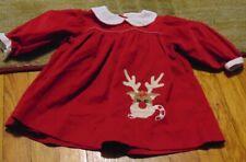 Zu girls 6 month reindeer Christmas dress