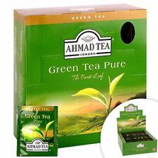 AHMAD TEA , GREEN TEA PURE , 100 BUSTINE  , Scadenza  18/11/2021