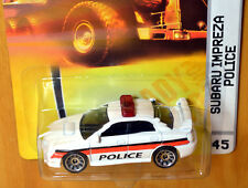 Matchbox Subaru Impreza WRX [Police] - New/Sealed/Rare [E-808]