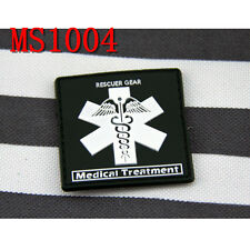 New Militaria Green Medical Treatment Rescuer Gear Morale Tactical Magic Patches