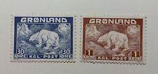 GREENLAND - MNH - 1938 - Polar Bear - 2/2 v