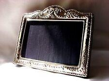 Pretty Finest 999 Qualité hallmarked silver London & Britannia marques Cadre Photo