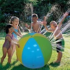 Inflatable Sprinkler Ball Splash Water Spray Lawn Kids Outdoor Beach Summer Toy