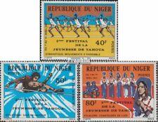 Niger 574-576 (compleet Kwestie) postfris MNH 1977 Jeugdfestival