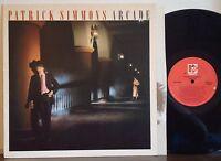 "PATRICK SIMMONS ""Arcade"" RARE EXC 1983 ELEKTRA LP Vic Feldman--Tower of Power"