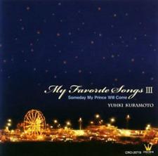 `KURAMOTO, YUHKI`-MY FAVORITE SONG 3-DISNEY FANT CD NEW