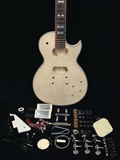 LP Les Paul Body Style, flame maple veneer Electric Guitar DIY Kits E-238DIY