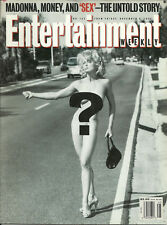 Madonna - Entertainment Weekly 1992 Nude Sex Cover Story - No Label - Brad Pitt
