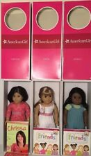 American Girl Doll Sonali, Gwen, and Chrissa  Mint Lot In Box