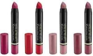 Max Factor Lipstick Lip Balm Lip Butter Matte - Choose your Shades *NEW*