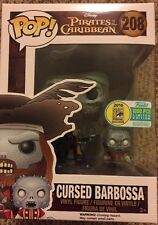 SDCC 2016 FUNKO POP Pirates of The Caribbean Cursed Ghost Barbossa Wrong Sticker