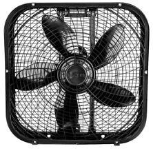 20' 3-Speed Box Fan- Black