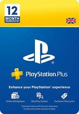 Sony Playstation PSN Plus 12 Month (365 days) Membership Card✅✅NEXT DAY DELIVERY