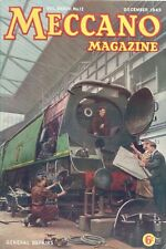 1949 DECEMBER 33605  Meccano Magazine Cover Picture  GENERAL REPAIRS