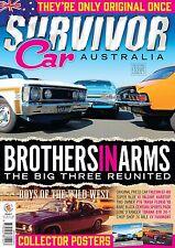 LIMITED STOCK - SURVIVOR CAR AUSTRALIA FALCON GT MONARO GTS CHARGER RT ISSUE 7