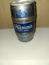 Vintage Hamm's Steel Barrel Beer Can