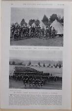 1896 BOER WAR ERA NAVAL CADET BATTALION PARADE AT DURBAN BRITISH EMPIRE