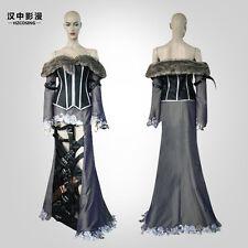 HZYM Lulu Role-playing Final Fantasy X10 Lulu Cosplay Costume High Quality Dress