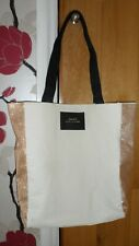 BNWOT Ladies Daisy Marc Jacobs Cream with Glitter Canvas Cotton Tote Bag