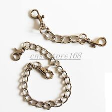 Restraint Steel Chain Two Hook to Wrist Hand Ankle Cuffs Hog Tie Accessory Parts