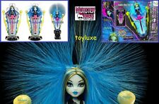 Monster High Freaky Fusion RECHARGE CHAMBER Shocking Frankie Doll Hair PlaySet !