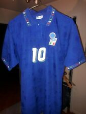 ITALIA 1994 WORLD CUP ROBERTO BAGGIO DIADORA ORIGINAL JERSEY MEDIUM MINT CONDIT