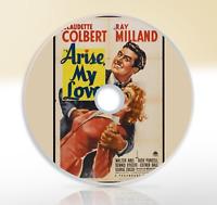Arise, My Love (1940) DVD Classic Comedy Film / Movie Claudette Colbert